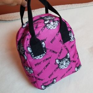 """Betsey Johnson Bags - Betsey Johnson """"cat"""" thermal lunch bag"""